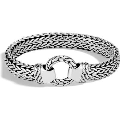 John Hardy O Station Classic Chain Bracelet