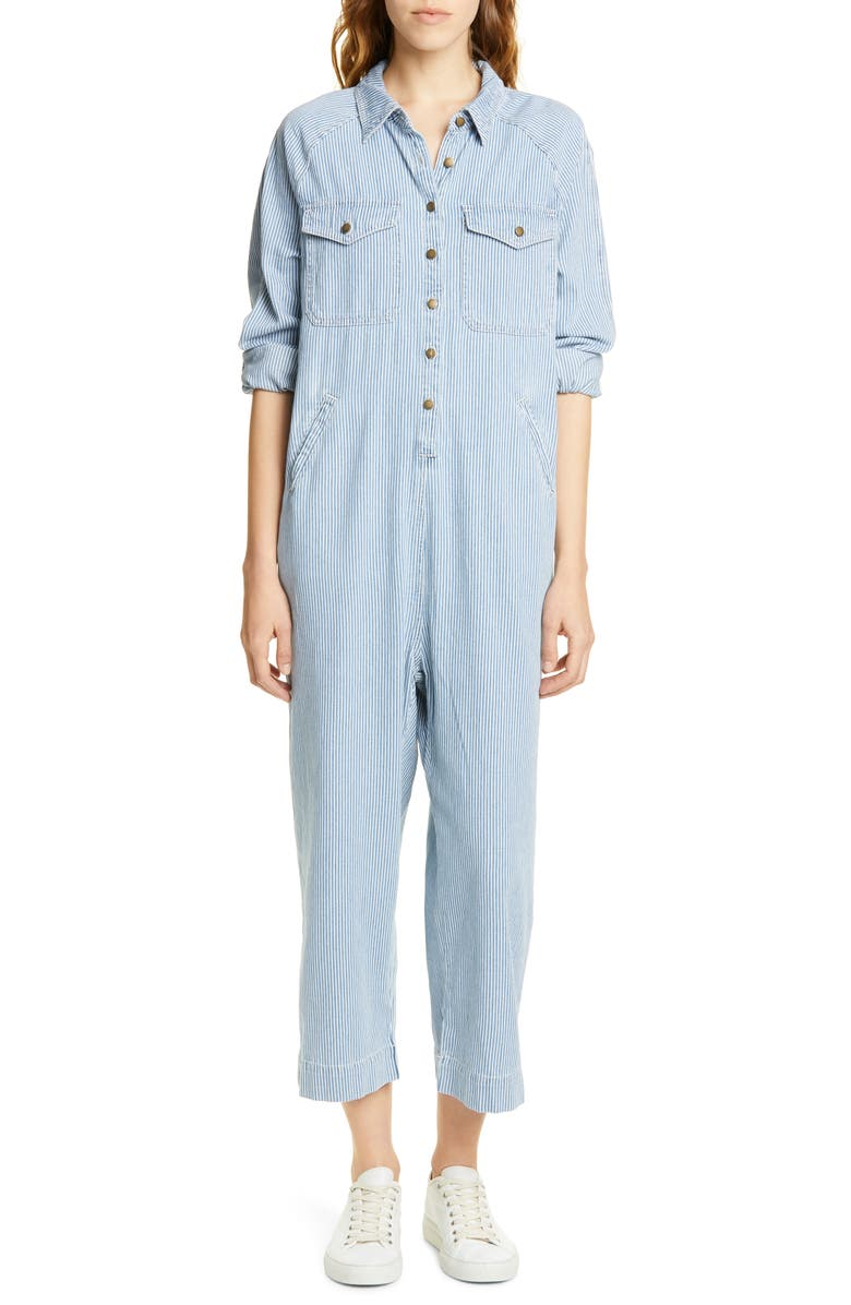 THE GREAT The Cropped Boilersuit