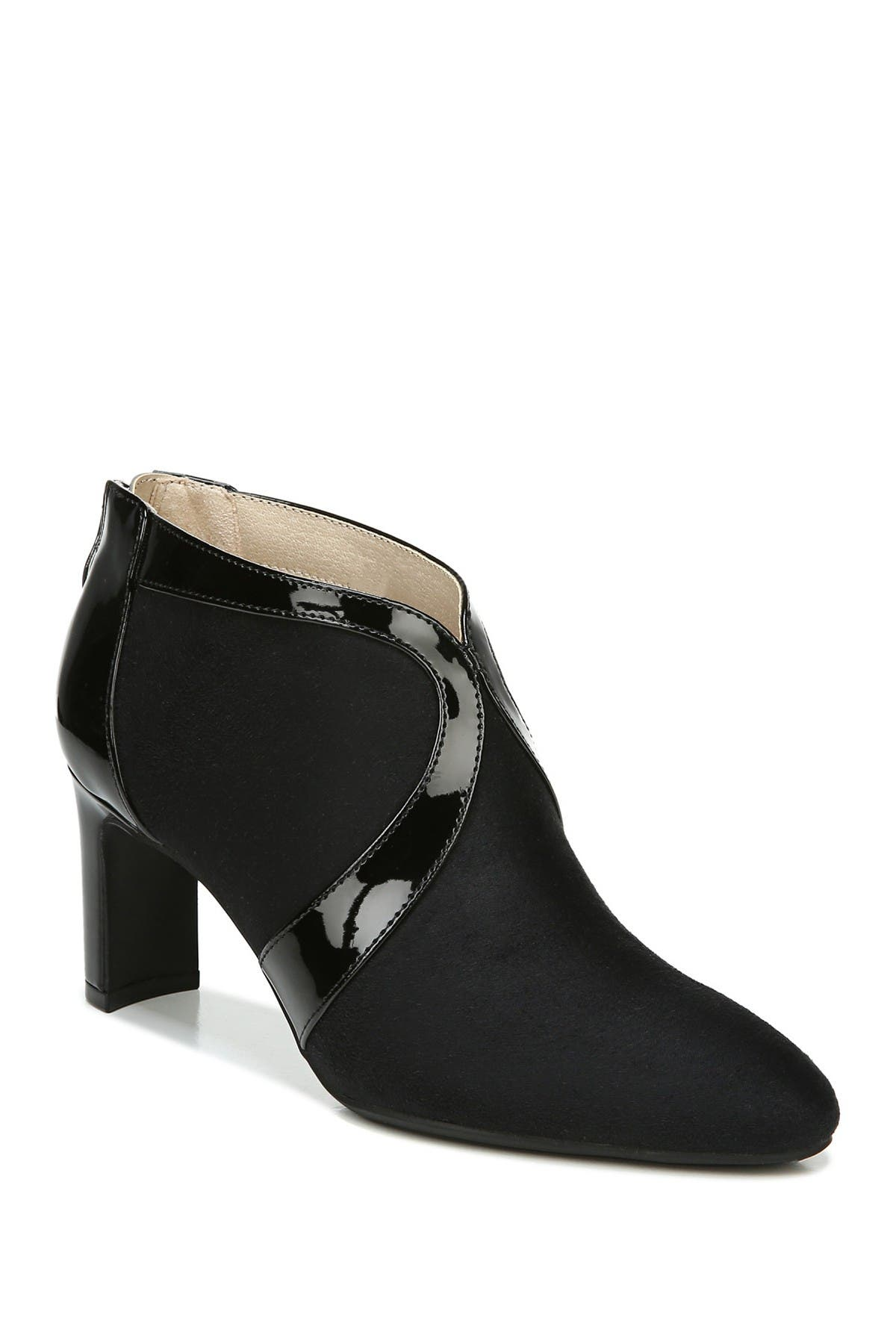 Image of LifeStride Glamour Patenet Trim Bootie - Wide Width Available
