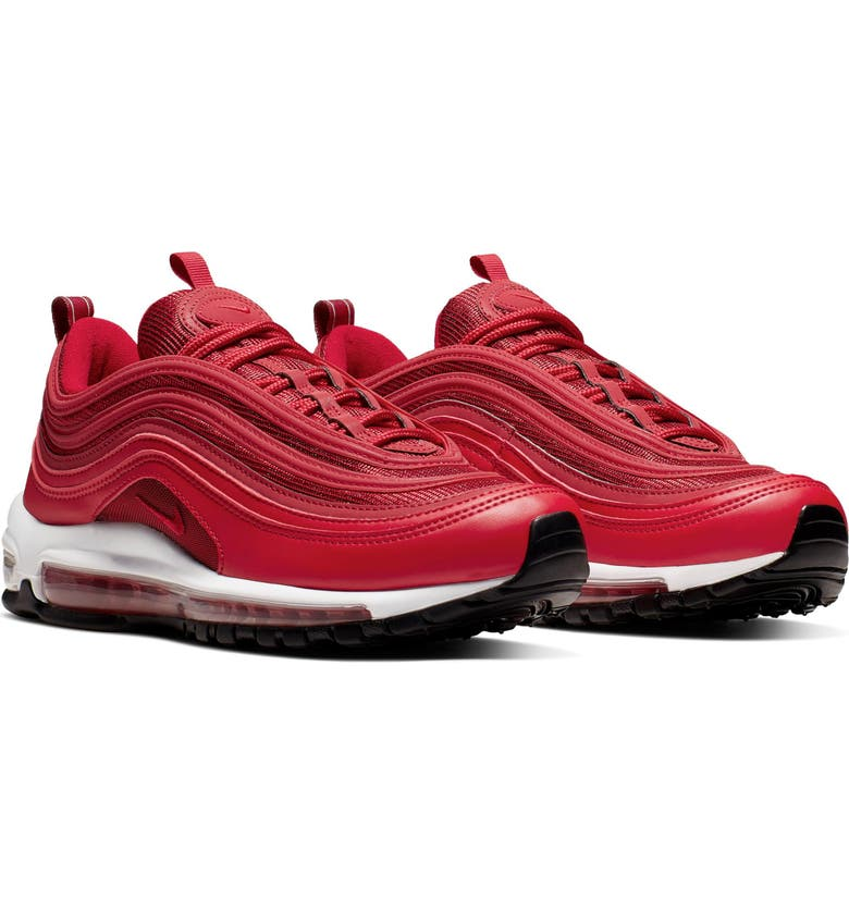 NIKE Air Max 97 Sneaker, Main, color, UNIVERSITY RED/ GYM RED/ BLACK