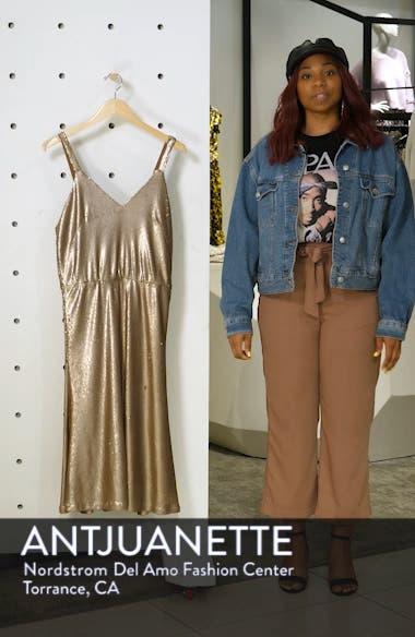 Cameron Sequin Blouson Dress, sales video thumbnail