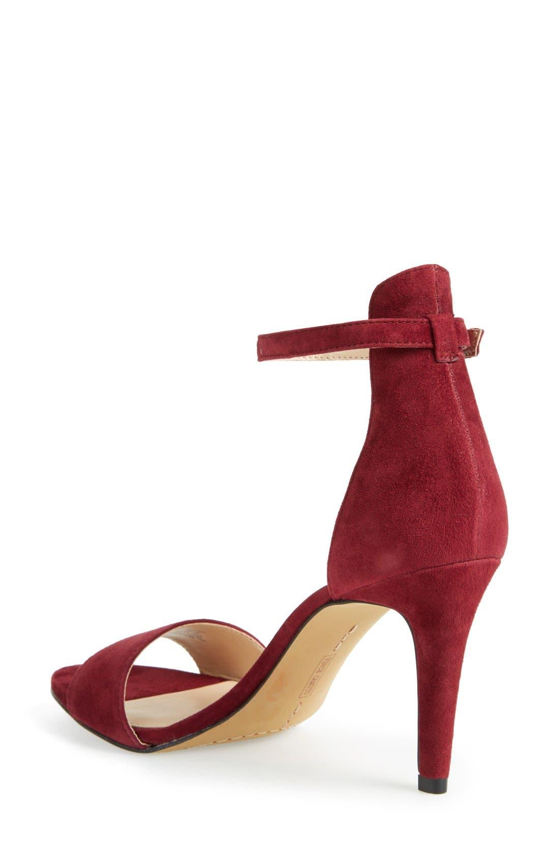 ,                             'Court' Ankle Strap Sandal,                             Alternate thumbnail 80, color,                             601