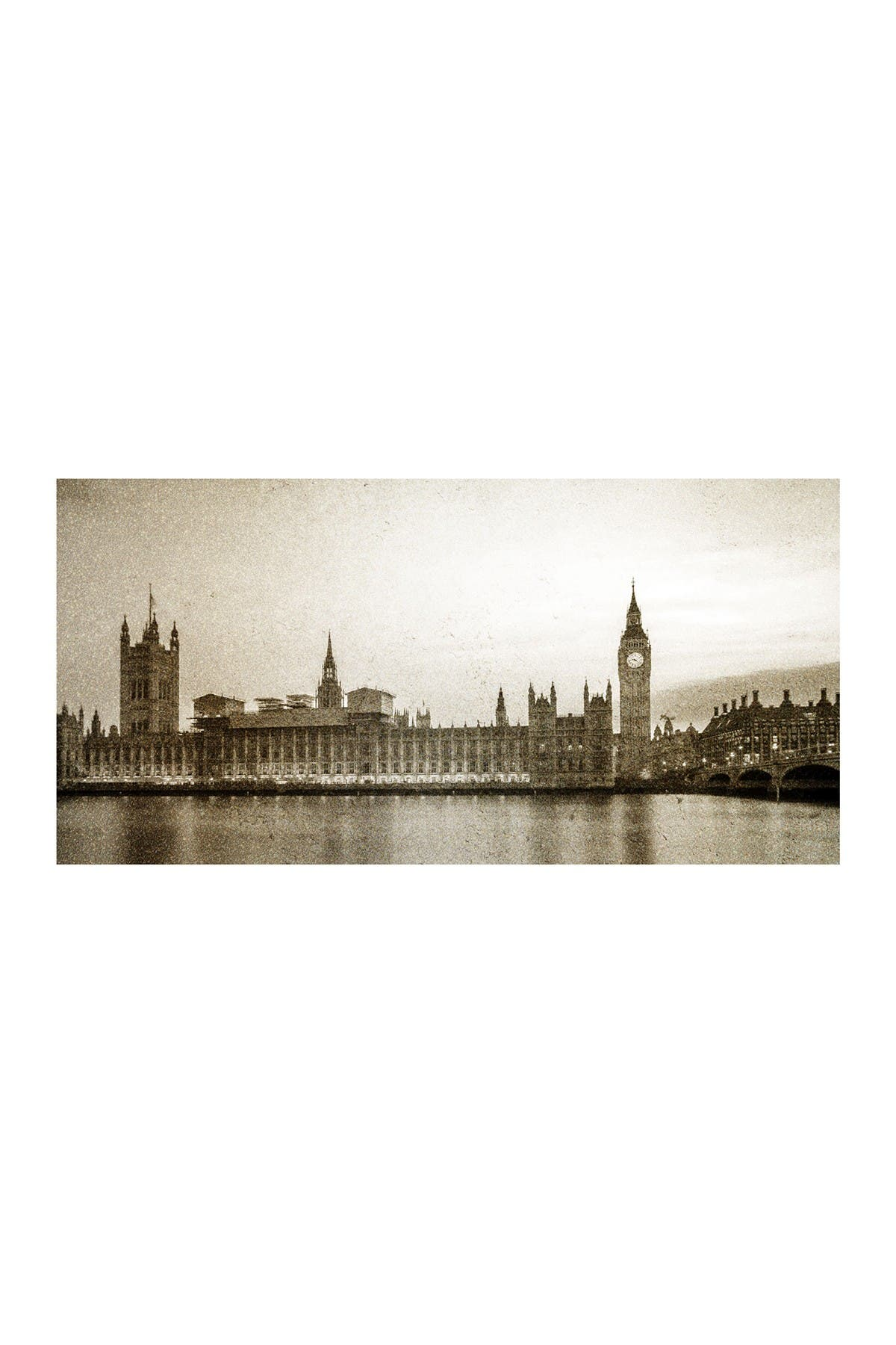 "Image of COURTSIDE MARKET Big Ben 45"" x 96"" Mural"