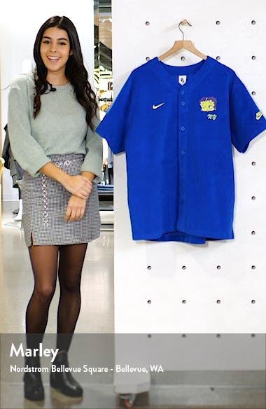 x Olivia Kim Corduroy Baseball Jersey, sales video thumbnail