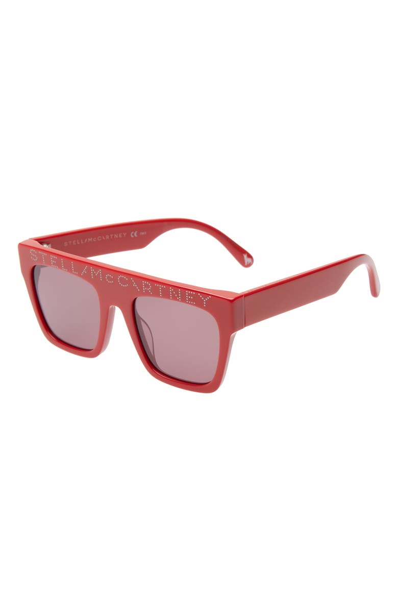 STELLA MCCARTNEY KIDS 45mm Sunglasses, Main, color, RED