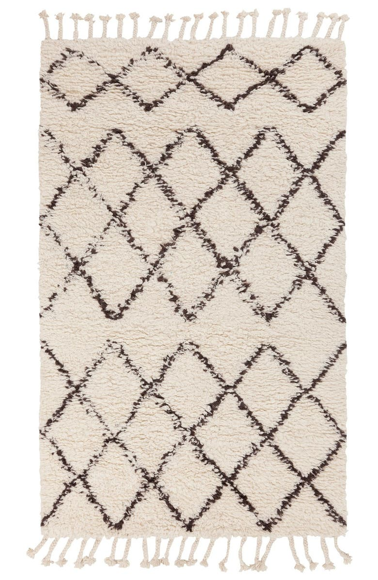 SURYA HOME Wool Rug, Main, color, IVORY/ TAUPE