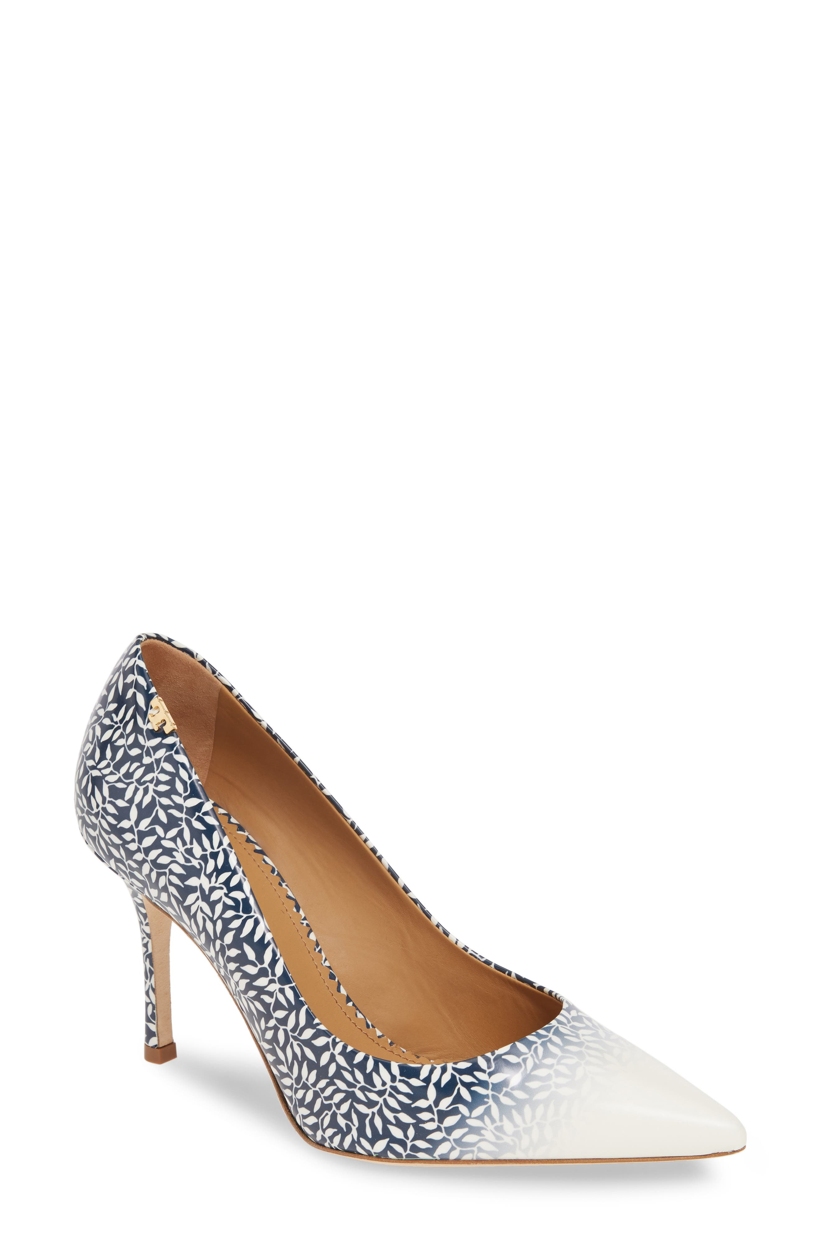 Tory Burch Penelope Ombre Pointy Toe Pump, Black