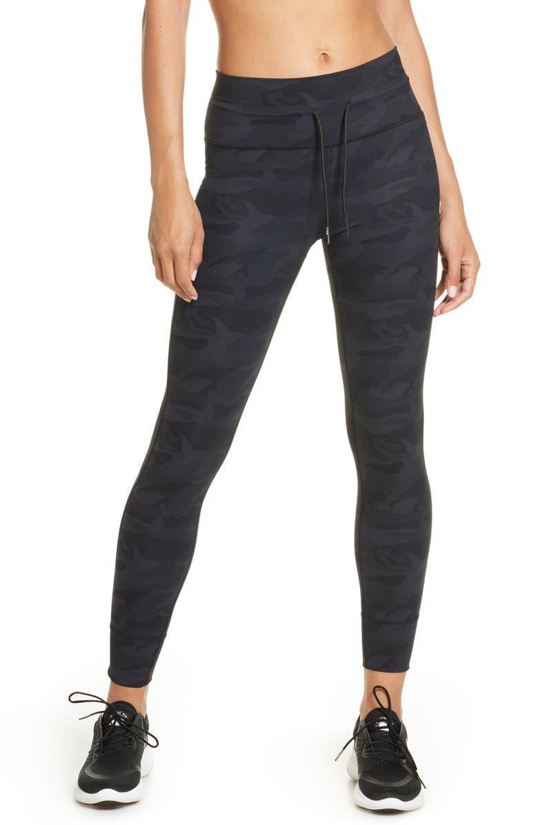 VUORI Daily Leggings, Main, color, BLACK CAMO