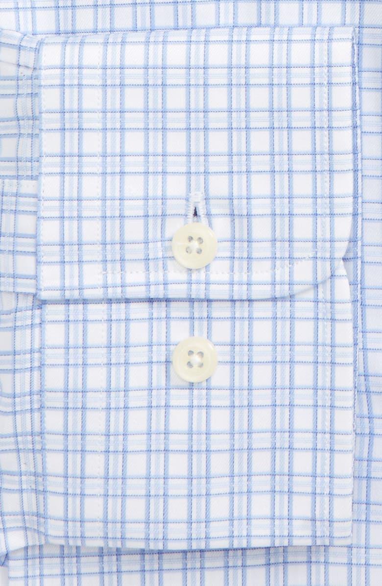 DAVID DONAHUE Regular Fit Check Dress Shirt, Main, color, 135