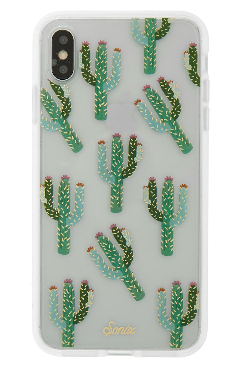 SONIX Cactus iPhone X/Xs, XR & Xs Max Case, Main, color, MULTI