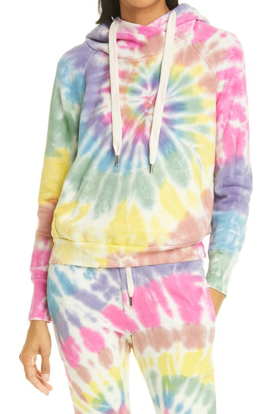 NSF CLOTHING Cottons LISSE TIE DYE COTTON FLEECE HOODIE