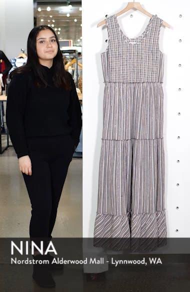 Tiered Smocked Maxi Dress, sales video thumbnail