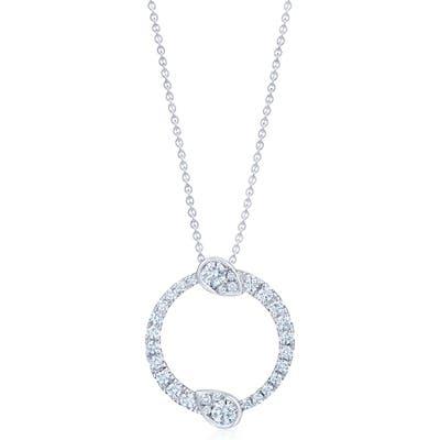 Kwiat Eclipse Yin Yang Diamond Pendant Necklace