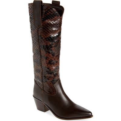 Seychelles Admirable Knee High Boot- Brown