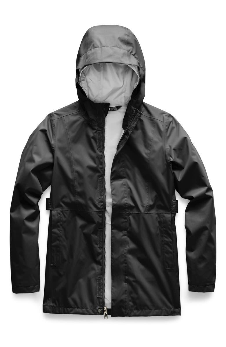 THE NORTH FACE Laney Rain Jacket, Main, color, 001