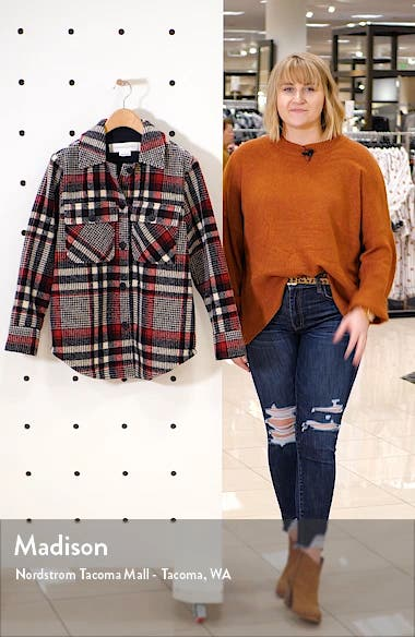 Plaid Shirt Jacket, sales video thumbnail