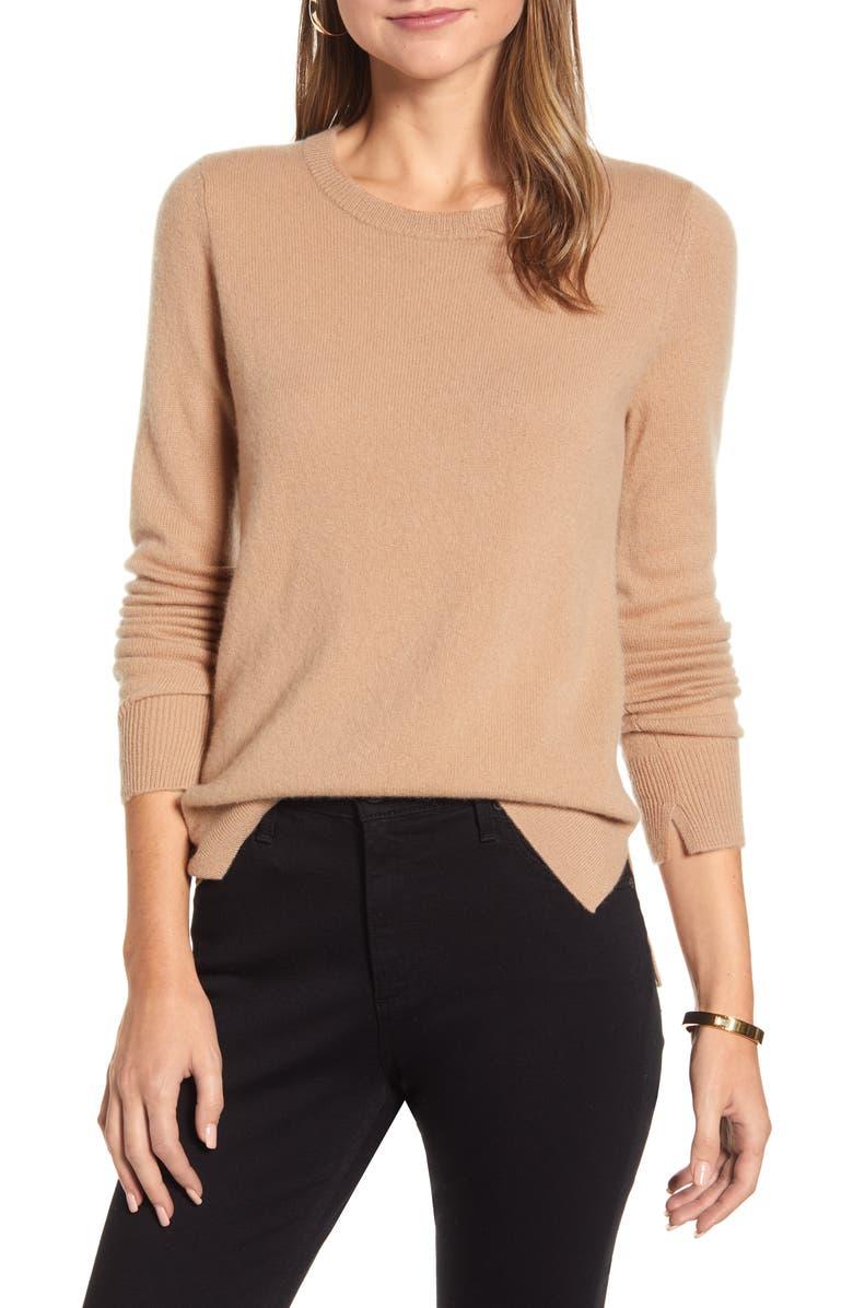 Crewneck Cashmere Sweater by Halogen®
