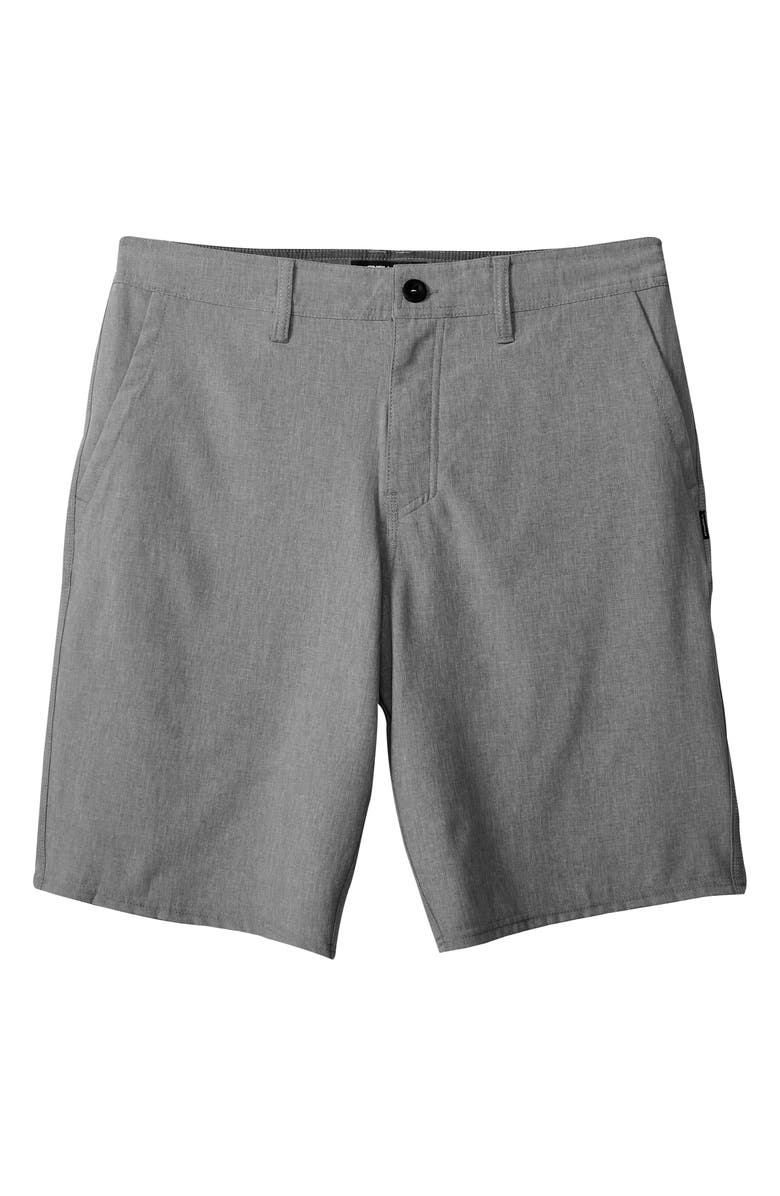 O'NEILL Reserve Shorts, Main, color, HEATHER GREY