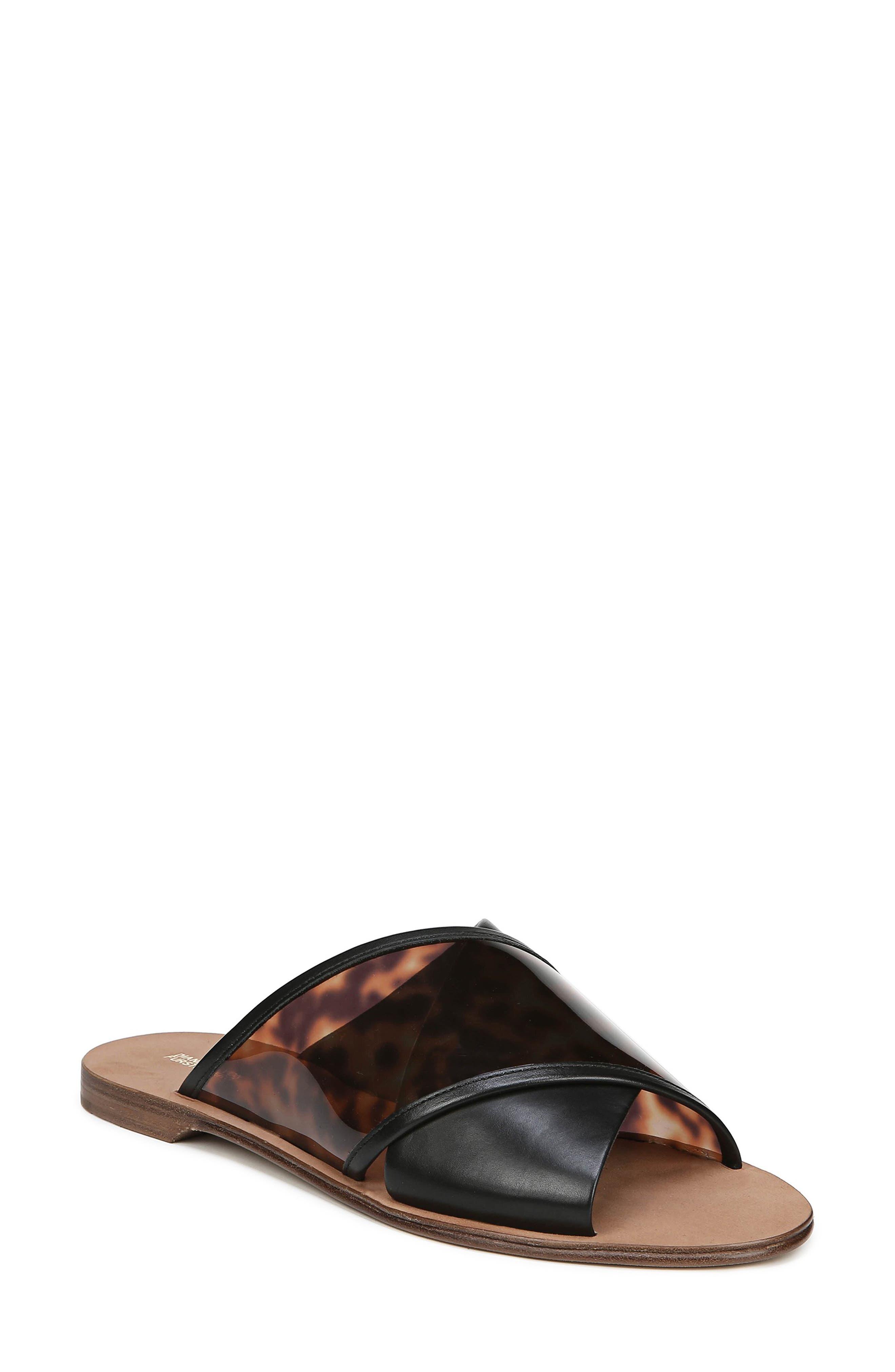 Diane Von Furstenberg Bailie 4 Sandal- Black