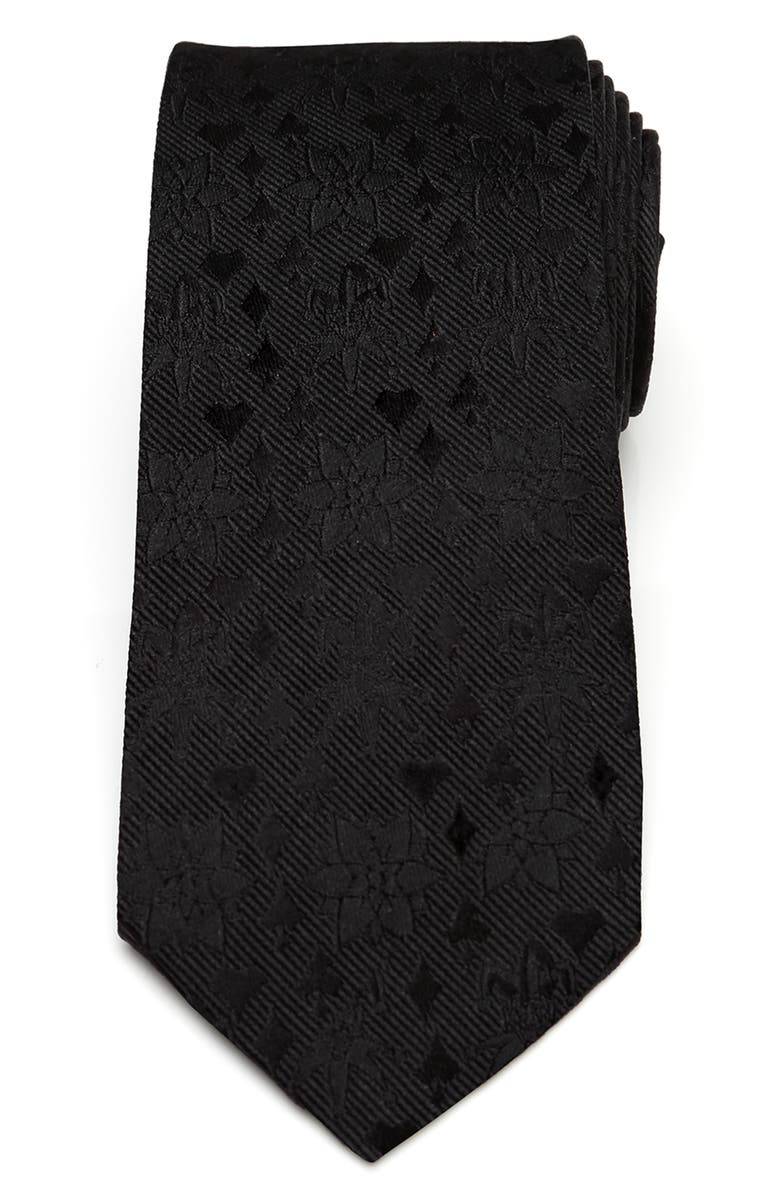 CUFFLINKS, INC. Joker Suits Silk Tie, Main, color, BLACK