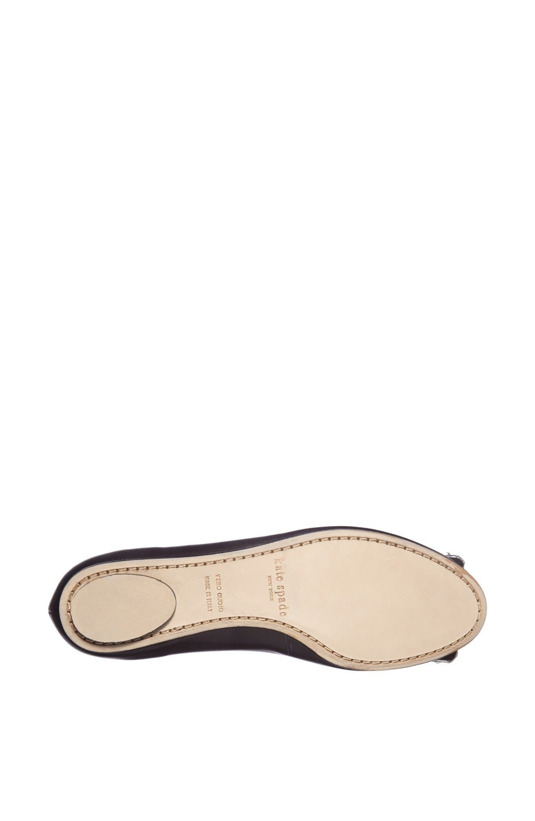 ,                             'brilliant' nappa leather flat,                             Alternate thumbnail 2, color,                             001