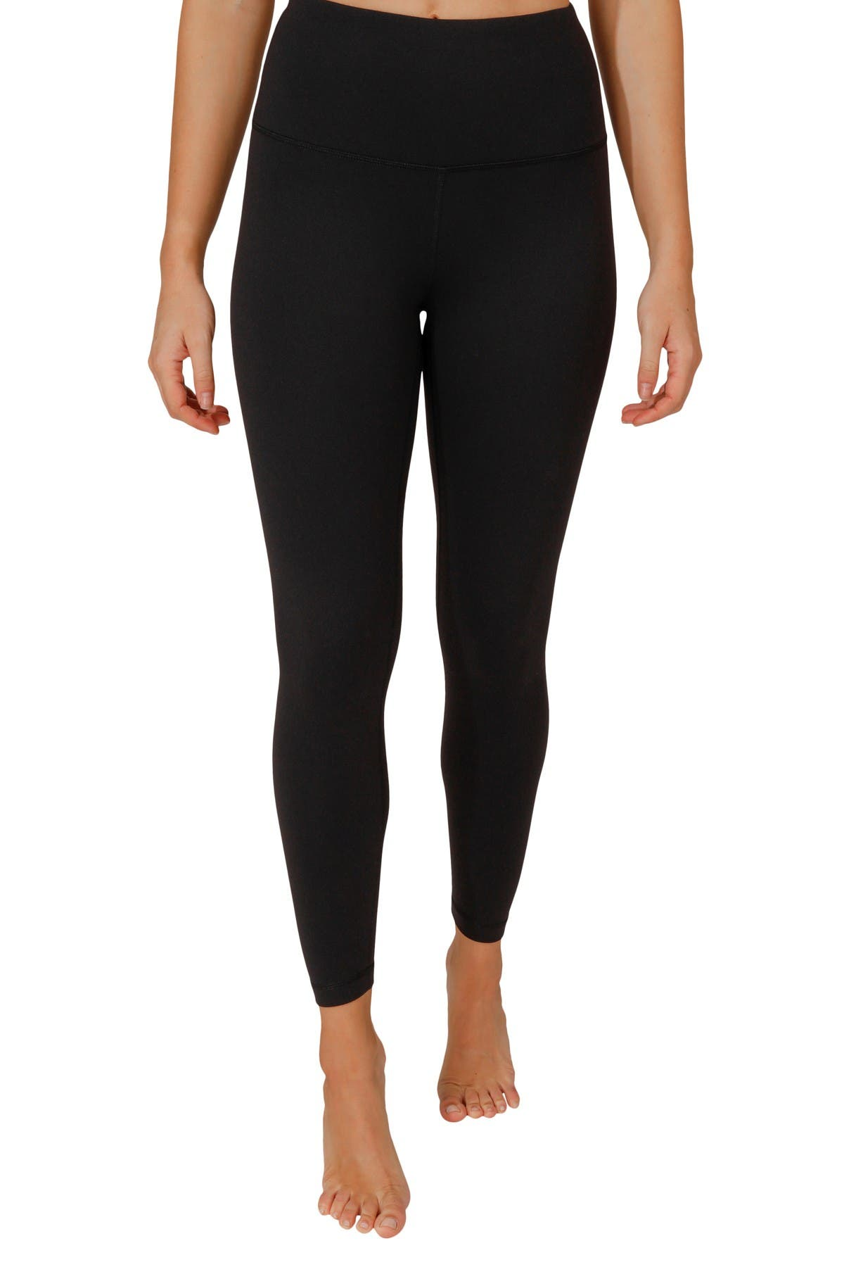 Image of 90 Degree By Reflex Power Flex Fleece Lined High Rise Ankle Legging