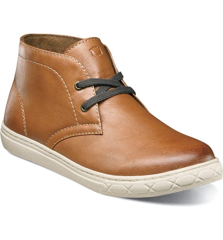 FLORSHEIM Curb Chukka Sneaker Boot, Main, color, COGNAC