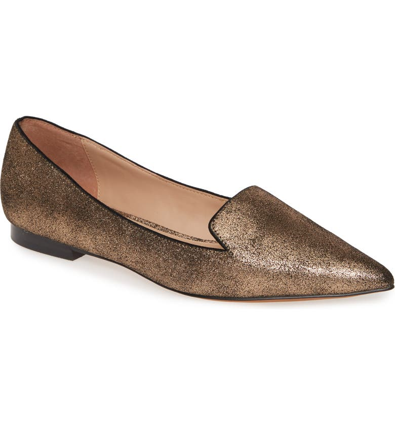 LINEA PAOLO Portia Loafer, Main, color, BRONZE SUEDE
