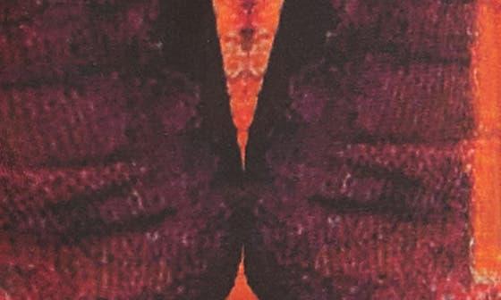 6350 - RED IVORY BLACK