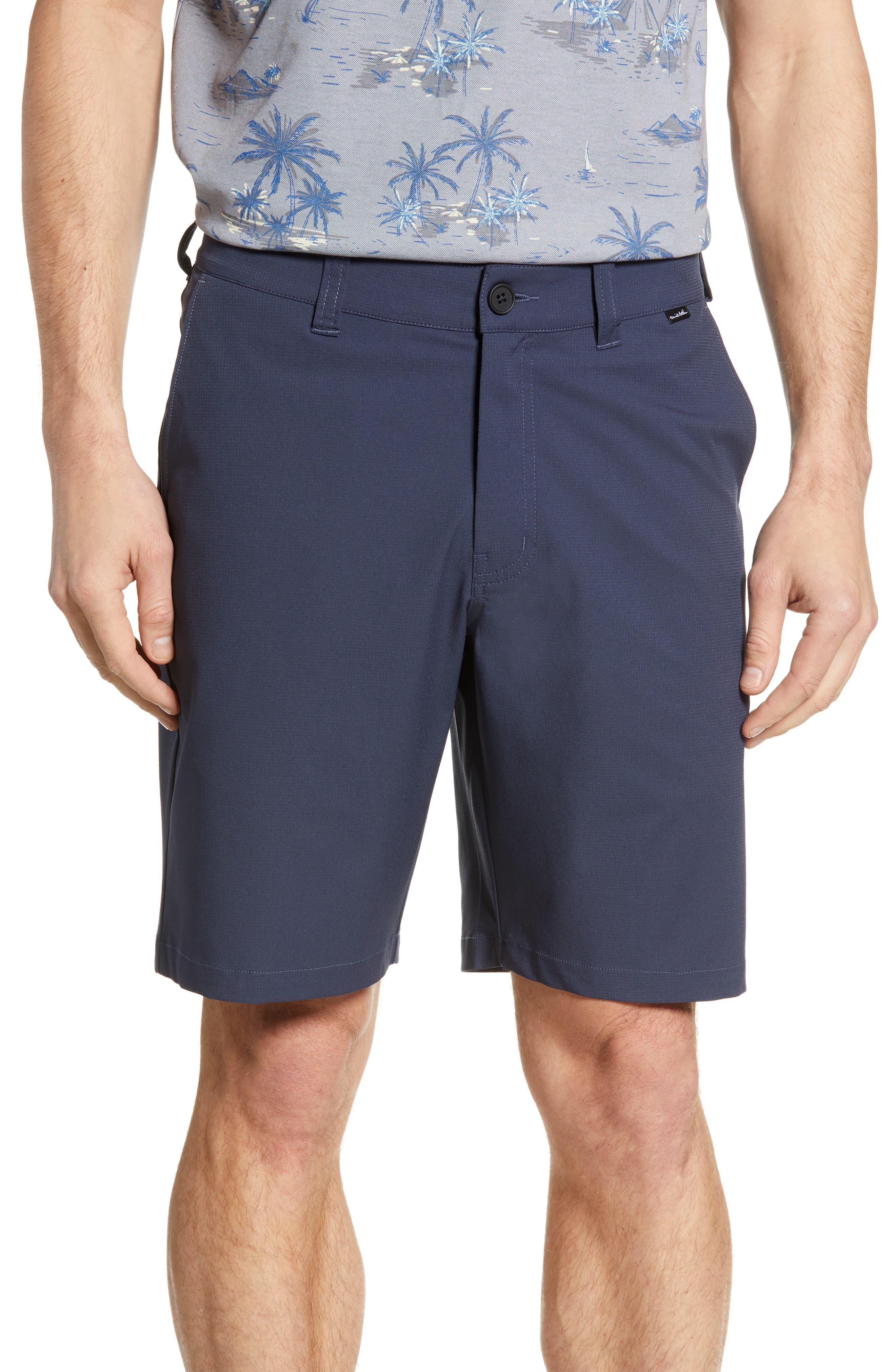 3e907017d5 Travismathew Starnes Stretch Performance Shorts, Blue