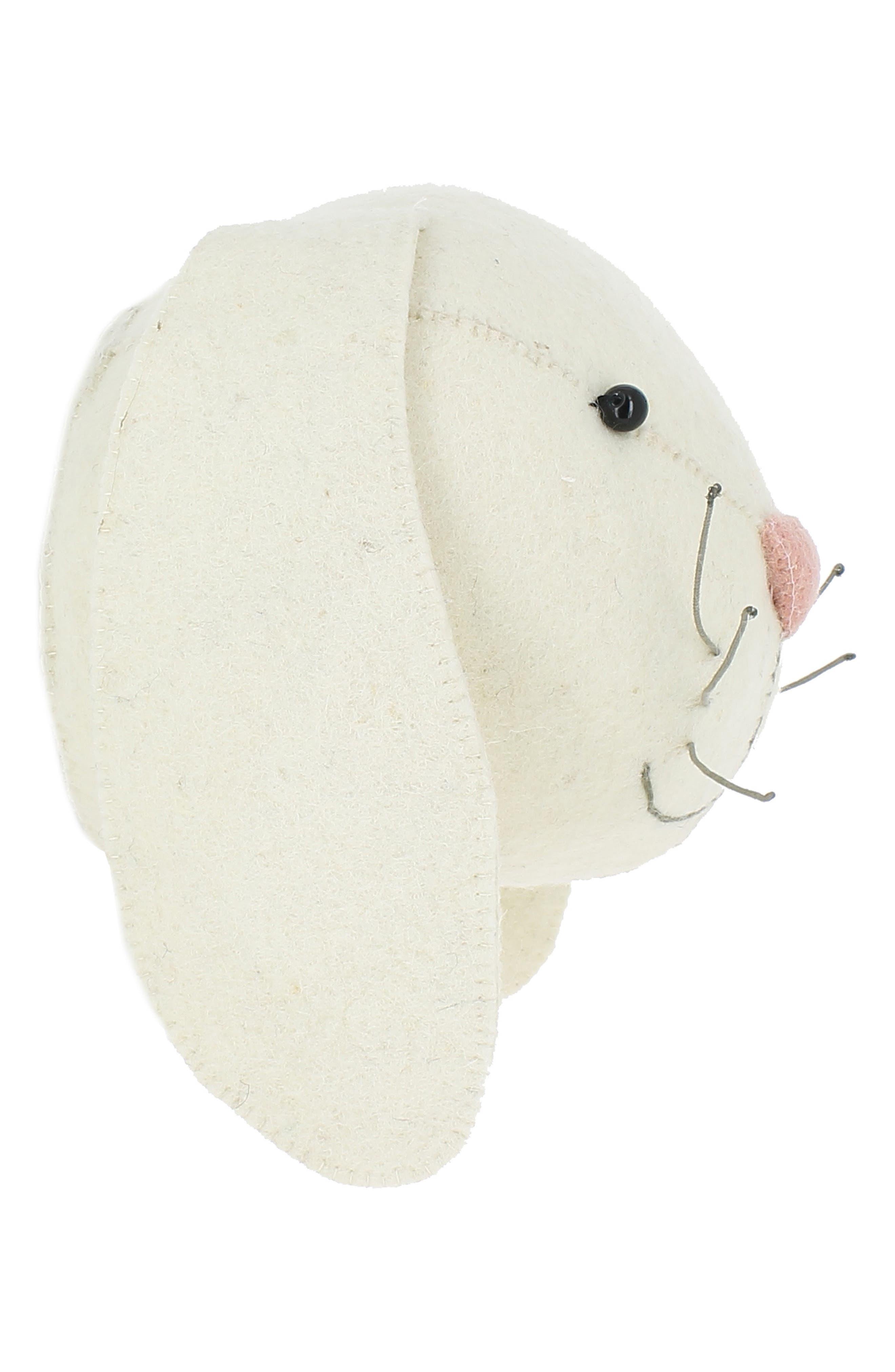 ,                             Bunny Head Wall Art,                             Alternate thumbnail 3, color,                             900