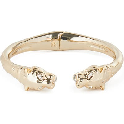 Alexis Bittar Future Antiquity Face To Face Panther Cuff