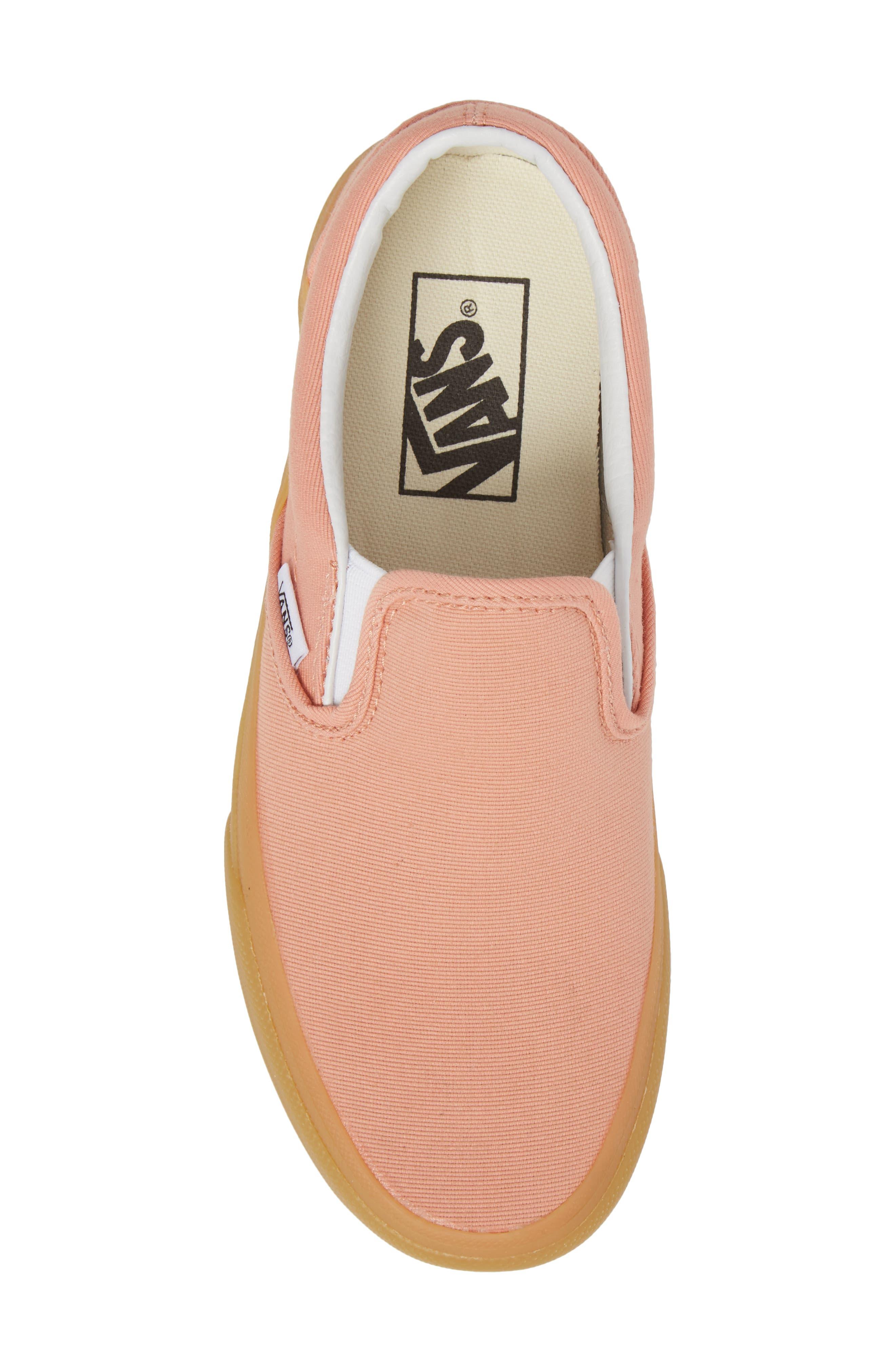 ,                             Classic Slip-On Sneaker,                             Alternate thumbnail 205, color,                             663