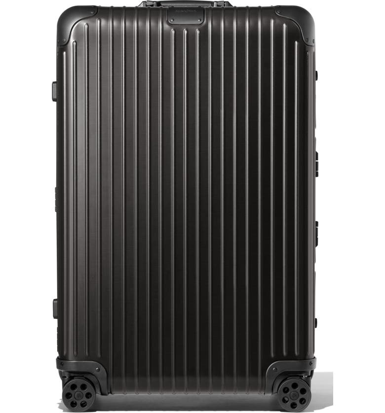 RIMOWA Original Check-In Large 30-Inch Packing Case, Main, color, BLACK