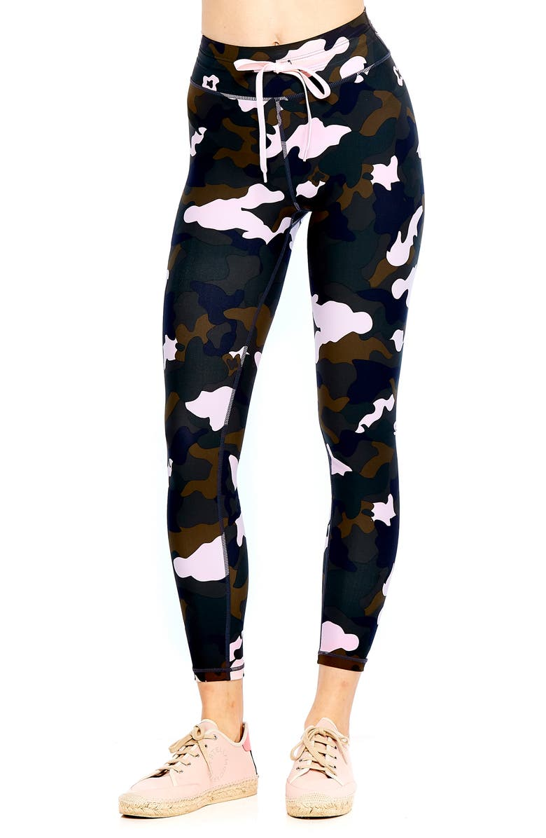 The Upside Forest Camo Crop Leggings