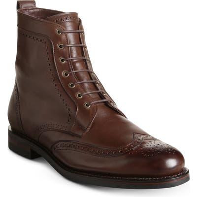 Allen Edmonds Dalton Weatherproof Wingtip Boot, Brown