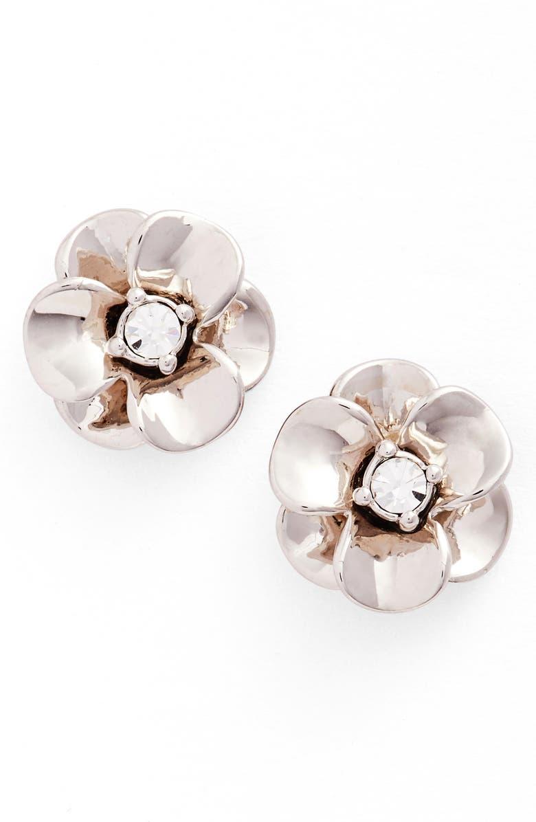 Shine On Flower Stud Earrings