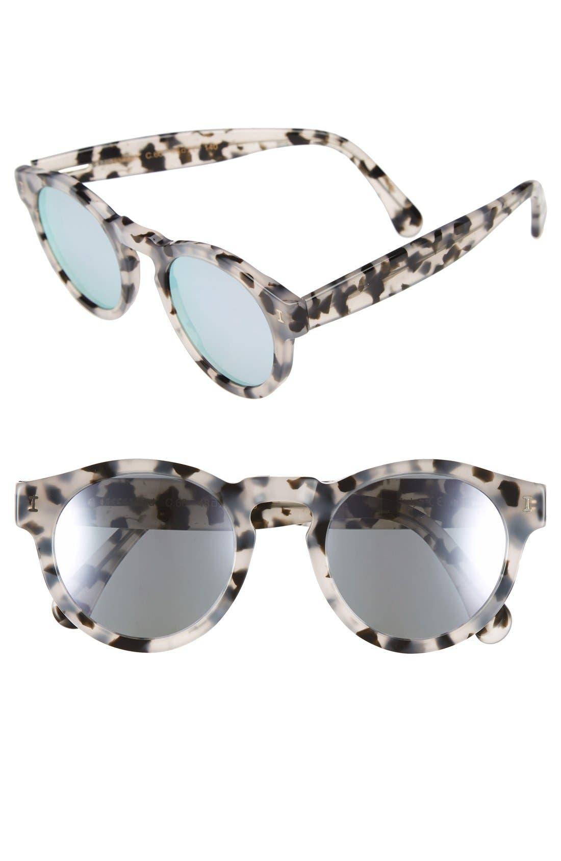 ,                             'Leonard' 47mm Sunglasses,                             Main thumbnail 61, color,                             115
