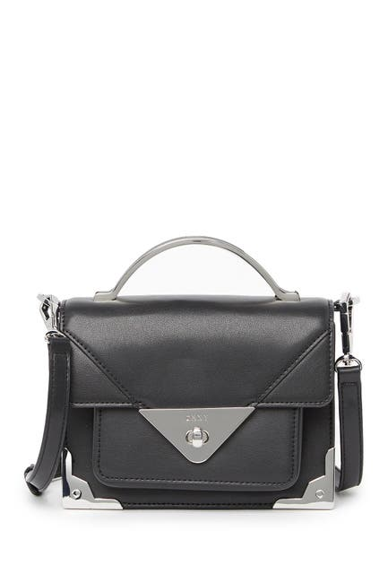 Image of DKNY Jaxone Small Leather Crossbody Bag