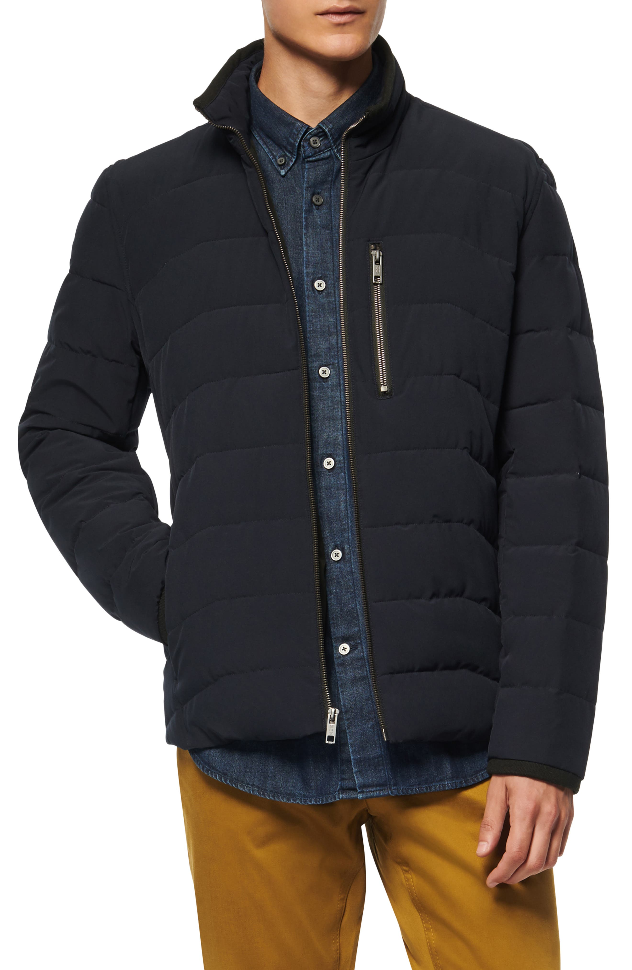 Carlisle Water Resistant Quilted Puffer Jacket