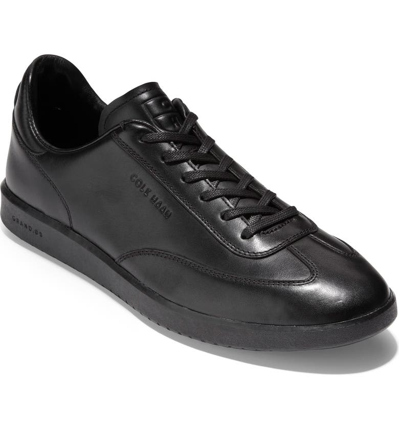 COLE HAAN GrandPro Turf Sneaker, Main, color, BLACK LEATHER