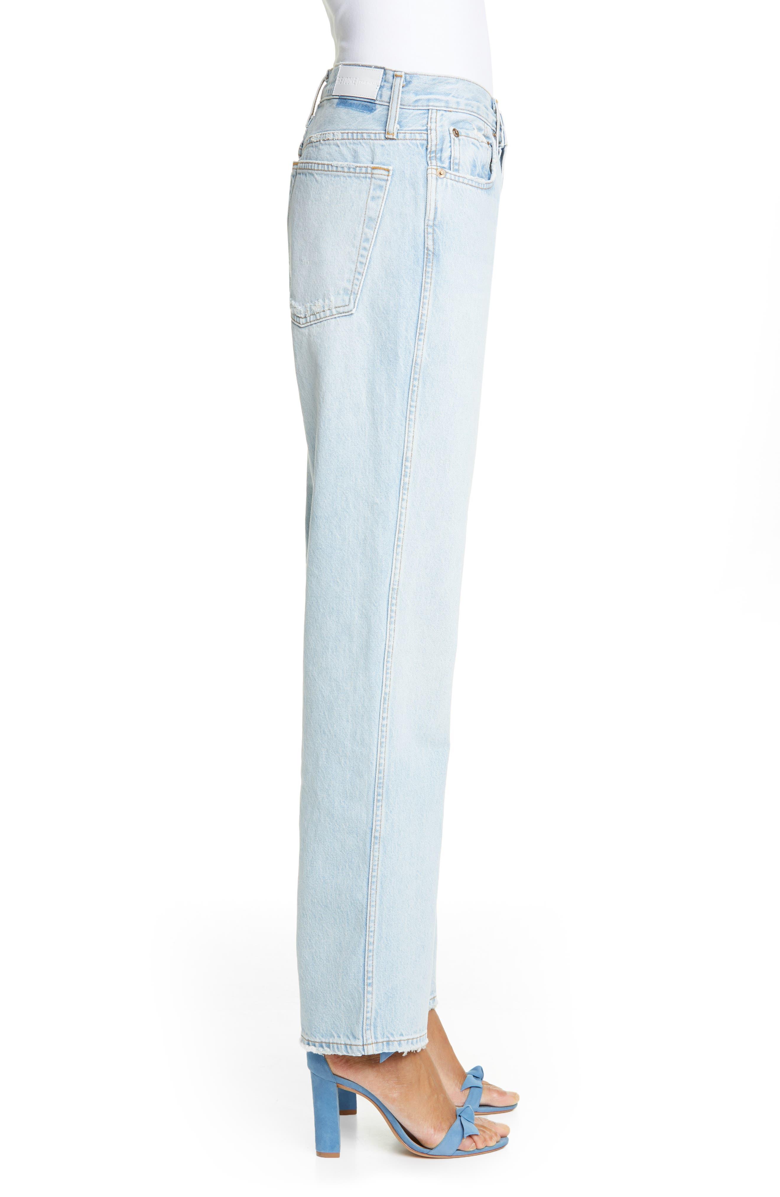 ,                             Low Slung Jeans,                             Alternate thumbnail 4, color,                             LIGHT 04