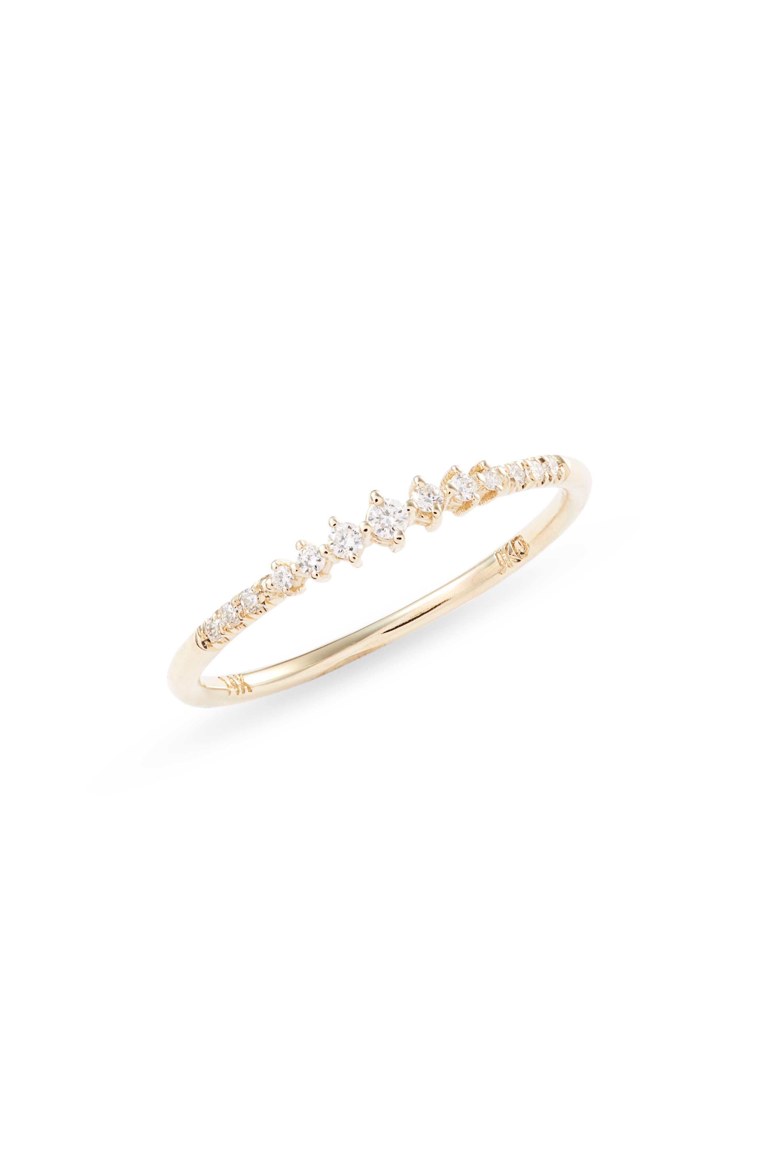 Diamond Prelude Band Ring