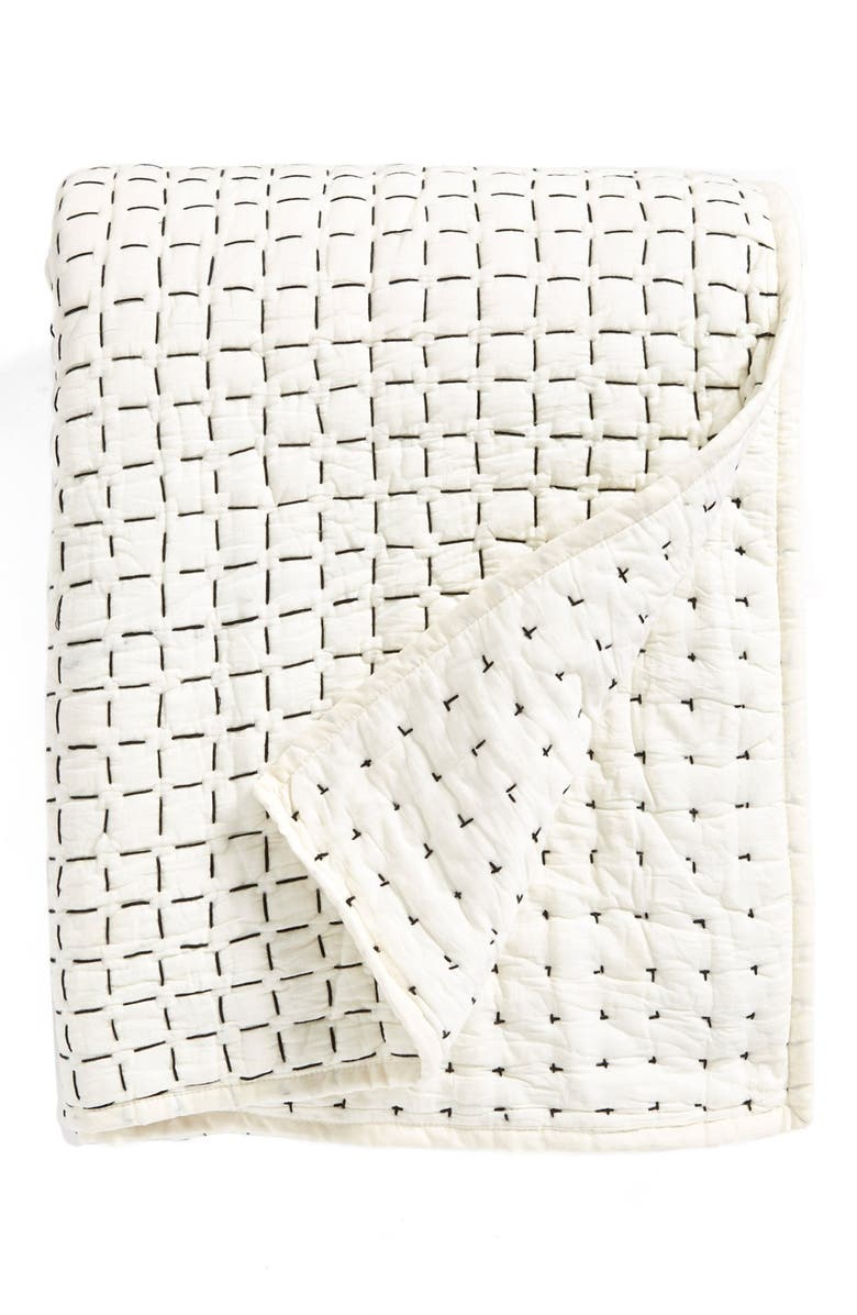 DKNY 'Pure Imprint' Quilt, Main, color, 020
