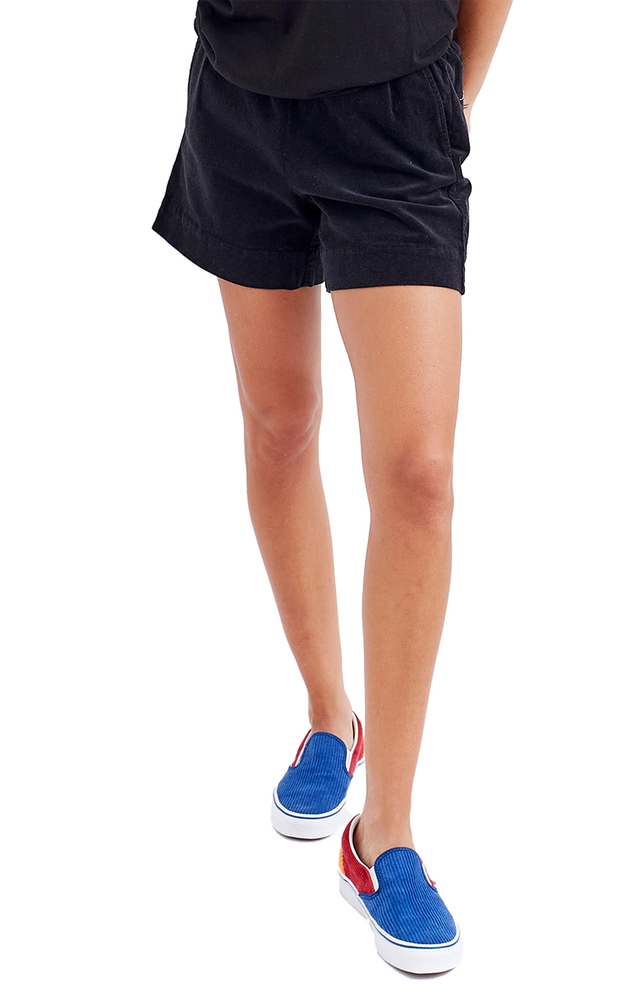 Stretch Corduroy Shorts