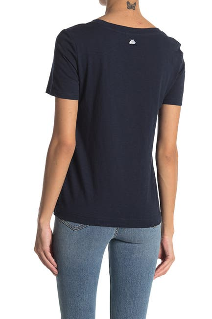 Image of Barbour Mersey Eyelet Lace T-Shirt