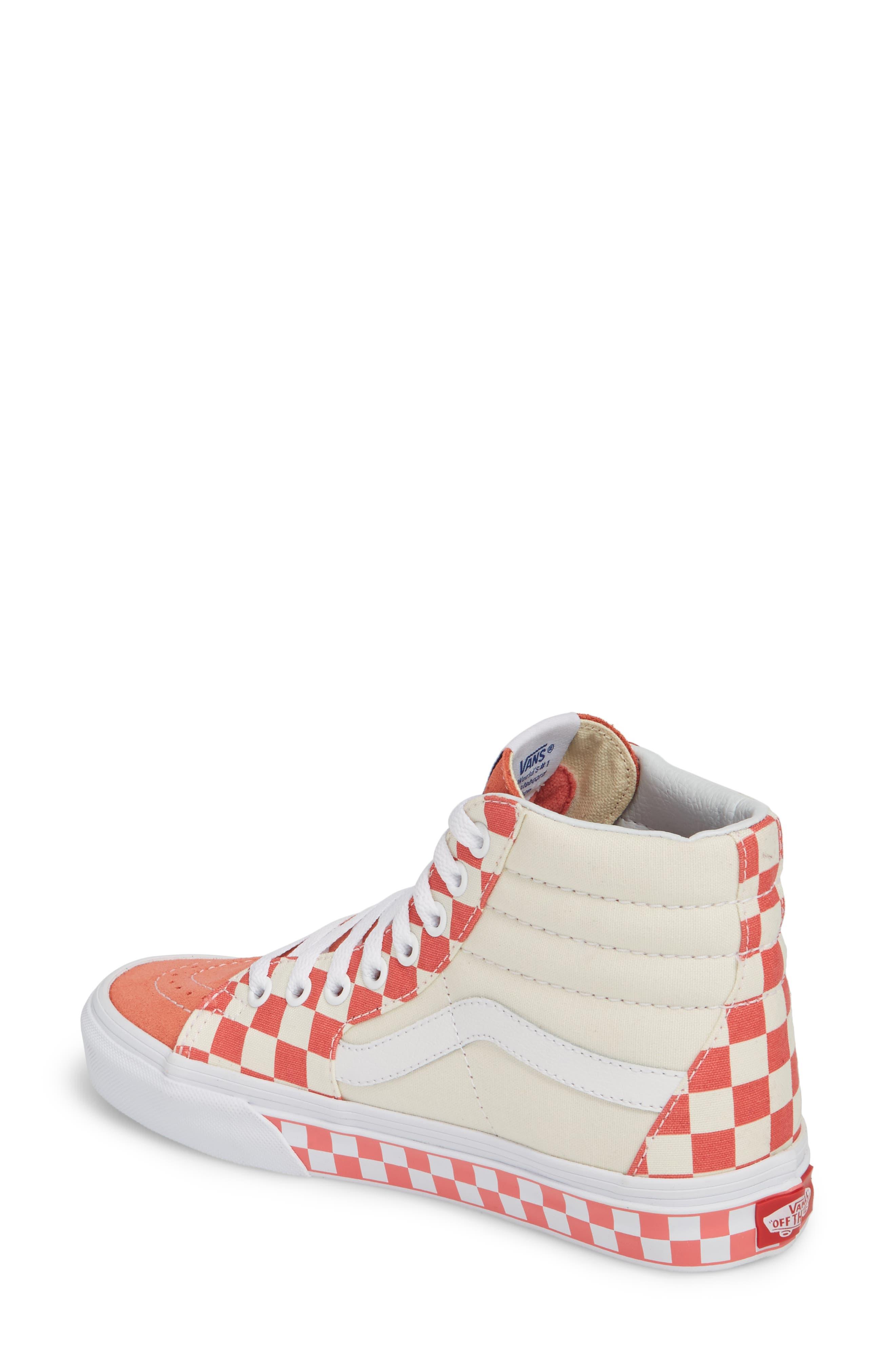 ,                             Sk8-Hi Checker Sneaker,                             Alternate thumbnail 24, color,                             950
