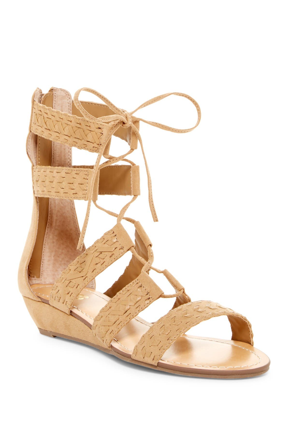 Image of Carlos By Carlos Santana Kamilla Wedge Gladiator Sandal