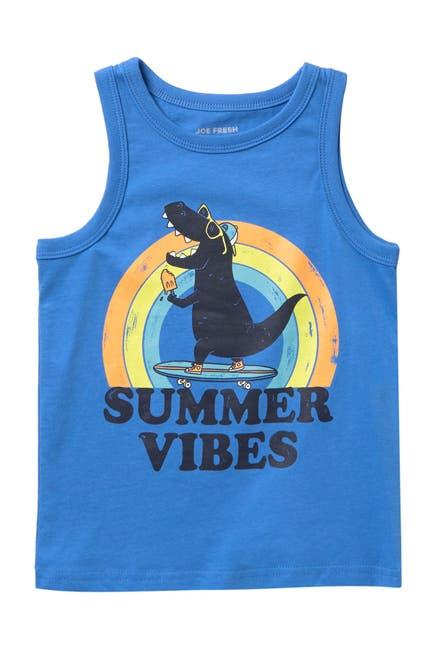 Image of Joe Fresh Summer Vibes Graphic Tank Top