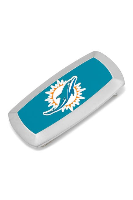 Image of Cufflinks Inc. NFL Miami Dolphins Cushion Money Clip